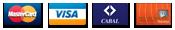 Tarjeta Visa, Mastercard, Cabal y Naranja