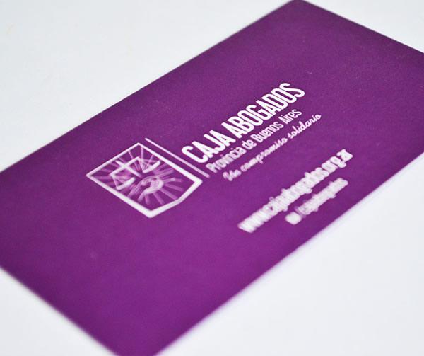 Tarjetas Personales Imprenta Servicop